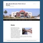 Baba Banda Bahadur Public School website desining CBSE norms