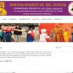 Shiksha Bharti School Website designing