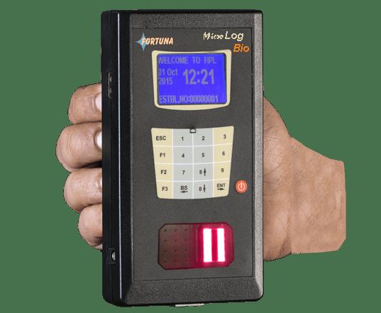 Portable Attendance Machine