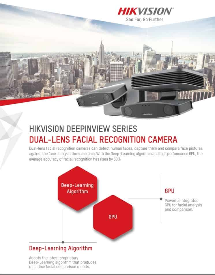HIKVISION'S DEEPINVIEW SERIES
