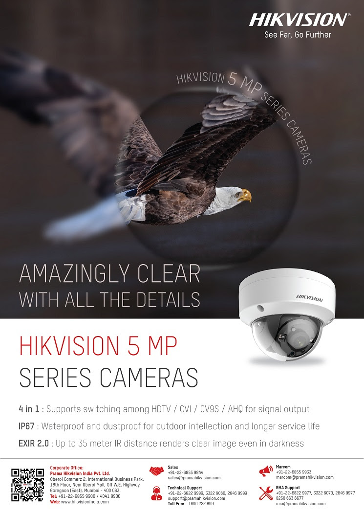 Hikvision 5MP Series Cameras